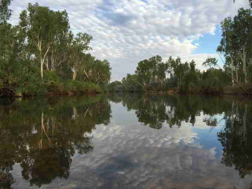 ALone on Drysdale River