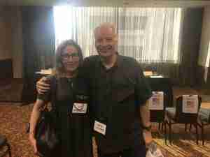 JS Breukelaar with Joe R Lansdale
