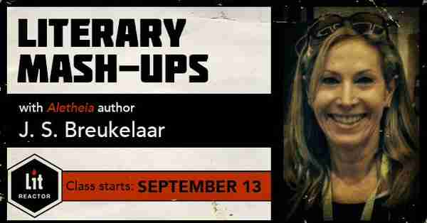 Another Literary Mashups class about to begin at LitReactor: Sept. 13