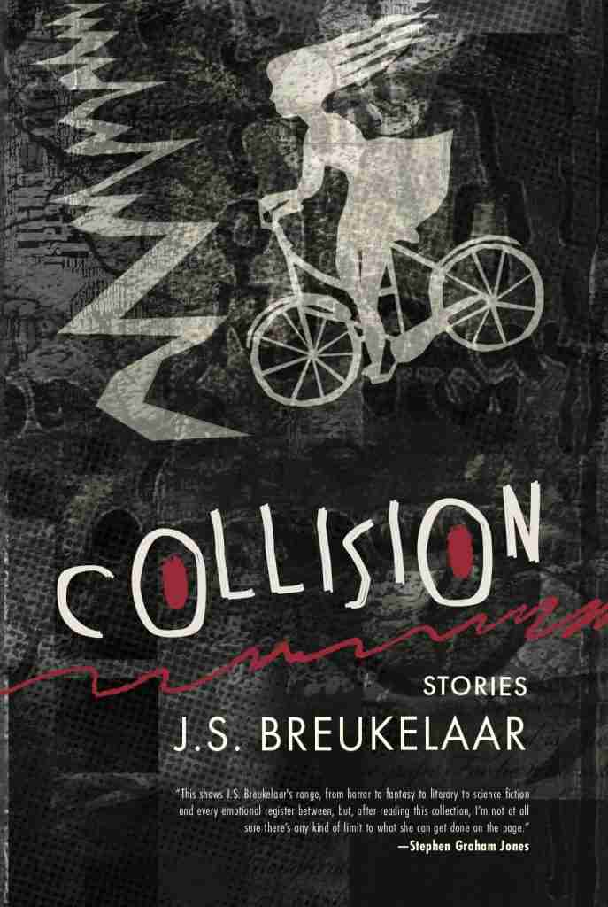 Collision Launch at Kinokuniya Booksby J.S. Breukelaar